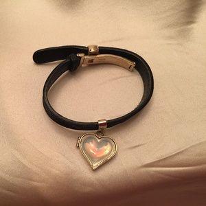 Vintage Lalique Locket Bracelet